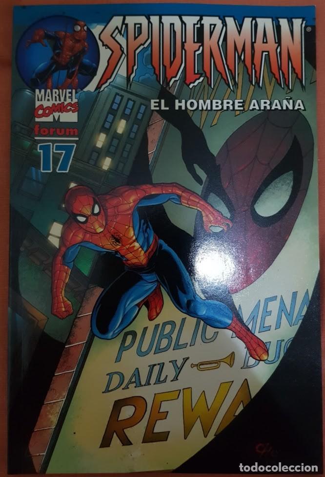 SPIDERMAN VOL 6 (LOMO AZUL) Nº 17. FORUM (Tebeos y Comics - Forum - Spiderman)