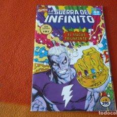 Cómics: LA GUERRA DEL INFINITO Nº 6 ( STARLIN ) ¡MUY BUEN ESTADO! MARVEL FORUM ESTELA PLATEADA WARLOCK. Lote 228240630