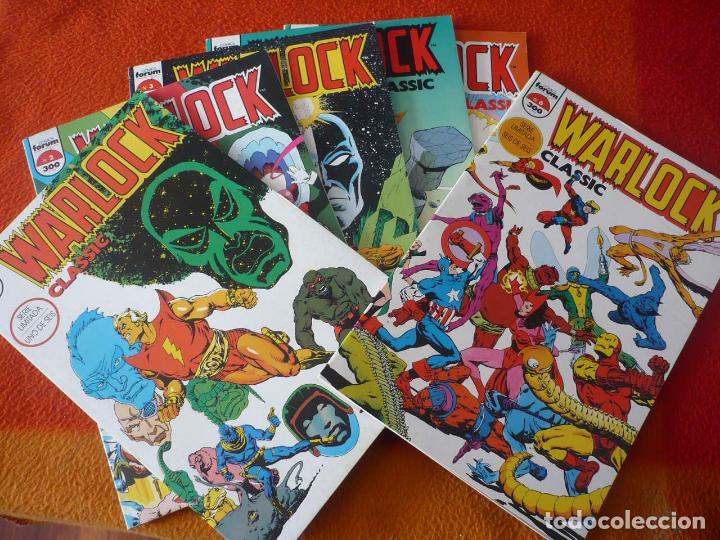 WARLOCK CLASSIC NºS 1 AL 6 ¡COMPLETA! ( STARLIN ) ¡BUEN ESTADO! MARVEL FORUM (Tebeos y Comics - Forum - Silver Surfer)