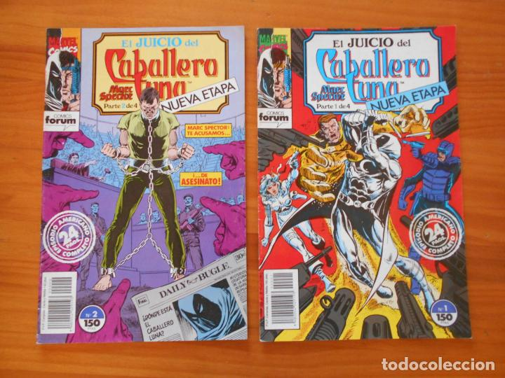 EL JUICIO DEL CABALLERO LUNA - MARC SPECTOR - Nº 1 Y 2 - MARVEL - FORUM (IÑ) (Tebeos y Comics - Forum - Otros Forum)