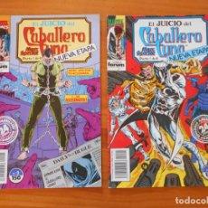 Cómics: EL JUICIO DEL CABALLERO LUNA - MARC SPECTOR - Nº 1 Y 2 - MARVEL - FORUM (IÑ). Lote 228283240