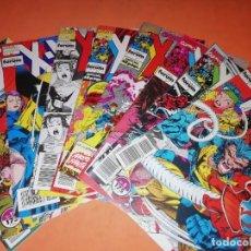 Cómics: X-MEN . VOL 1. LOTE DE NUEVE NUMEROS. 4,5,7,8,9,10,11,12 Y 13. FORUM.. Lote 228316270