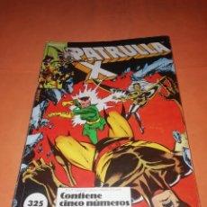 Cómics: PATRULLA X. RETAPADO. NUMEROS 16 AL 20. FORUM.. Lote 228317770