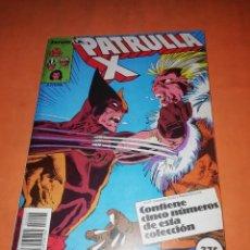 Cómics: PATRULLA X. RETAPADO. NUMEROS 72 AL 76. FORUM.. Lote 228318950