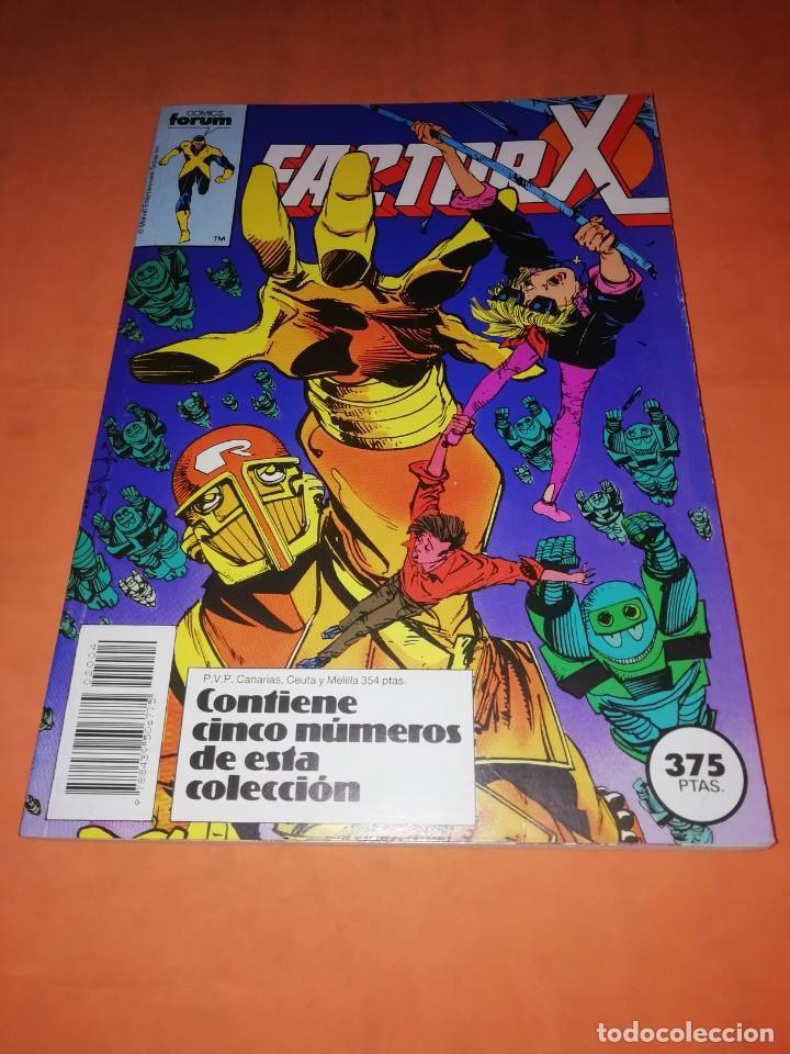 FACTOR X . RETAPADO. Nº 16 AL 20. FORUM (Tebeos y Comics - Forum - Factor X)