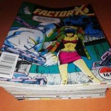Cómics: FACTOR X. GRAN LOTE. 35 NUMEROS. DEL 30 AL 67 ( FALTAN EL 56,59 Y 60 ) FORUM. MUY BUEN ESTADO.. Lote 228334990