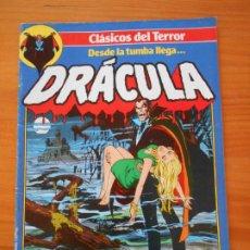 Cómics: DRACULA Nº 1 - CLASICOS DEL TERROR - FORUM (S). Lote 228436265