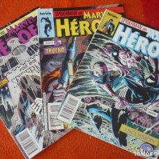 Cómics: MARVEL HEROES NºS 24, 25 Y 26 SPIDERMAN LA MUERTE DE KRAVEN ( DEMATTEIS ) FORUM. Lote 228450480