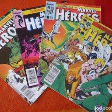 Cómics: MARVEL HEROES NºS 31, 32, 33 Y 34 PATRULLA X SPIDERMAN ( CLAREMONT GOLDEN ) FORUM. Lote 228450825