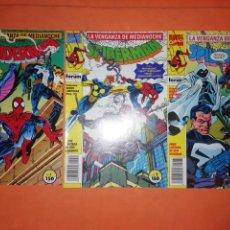 Cómics: SPIDERMAN. LA VENGANZA DE MEDIANOCHE . Nº 1,2 Y 3 DE 6. FORUM GRAPA BUEN ESTADO.. Lote 228485215