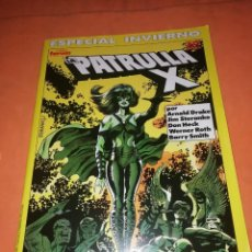 Cómics: LA PATRULLA X . ESPECIAL INVIERNO. FORUM GRAPA. BUEN ESTADO. Lote 228487215