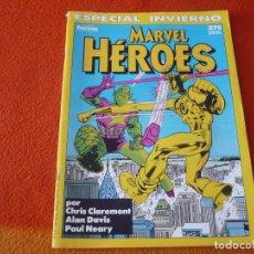 Cómics: MARVEL HEROES ESPECIAL INVIERNO 1990 ( CLAREMONT ALAN DAVIS ) FORUM. Lote 228549885