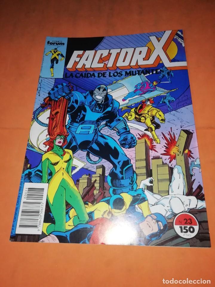 FACTOR X. Nº 23. LA CAIDA DE LOS MUTANTES. FORUM GRAPA (Tebeos y Comics - Forum - Factor X)