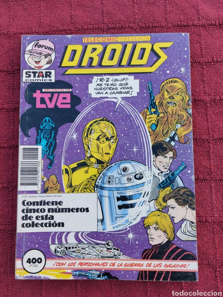 DROIDS,EWOKS,STAR WARS, LA GUERRA DE LAS GALAXIAS, R2D2, C3PO,COMICS SERIE TVE FORUM (Tebeos y Comics - Forum - Retapados)