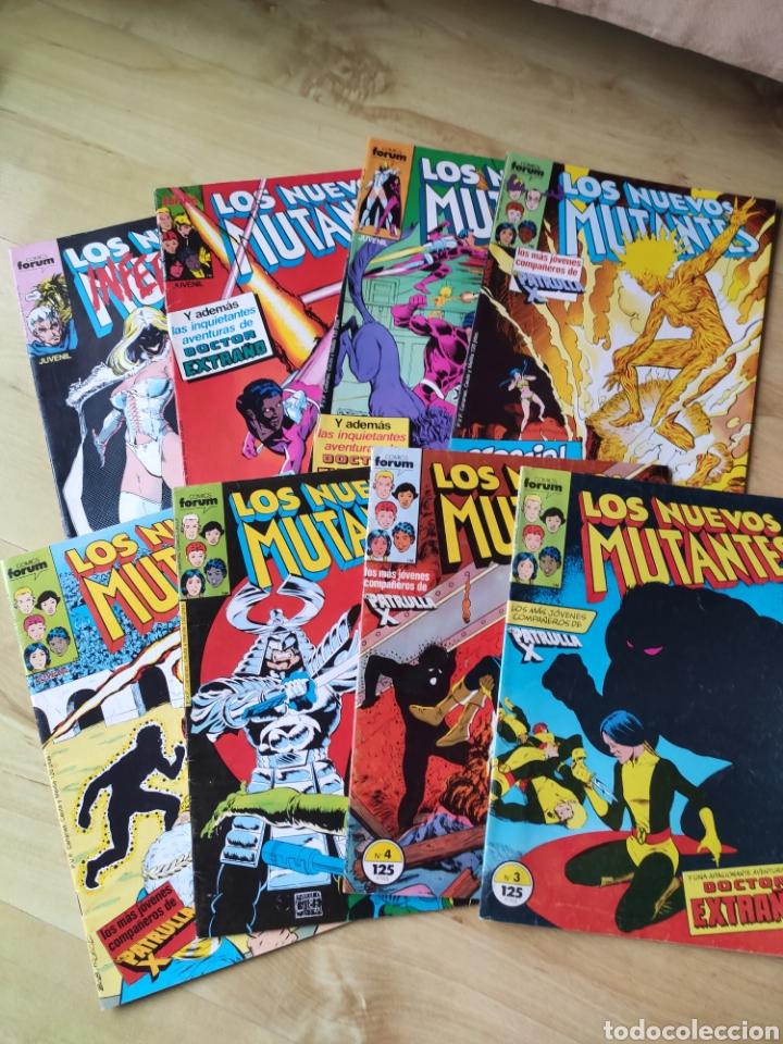 LOS NUEVOS MUTANTES VOL. 1. FORUM. 8 NUMEROS (Tebeos y Comics - Forum - Nuevos Mutantes)