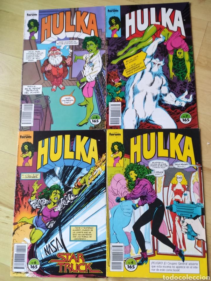 HULKA VOL.1 FORUM. 4 NÚMEROS. MUY BUEN ESTADO (Tebeos y Comics - Forum - Hulk)