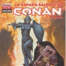 Cómics: COMIC TOMO (LOMO) LA ESPADA SALVAJE DE CONAN EL BÁRBARO Nº 44 ED. COLECCCIONISTAS - PLANETA 64 PGS.. Lote 228663710