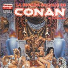 Cómics: COMIC TOMO (LOMO) LA ESPADA SALVAJE DE CONAN EL BÁRBARO Nº 50 ED. COLECCCIONISTAS - PLANETA 64 PGS.. Lote 228663850