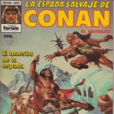 Cómics: COMIC TOMO (RETAPADO) LA ESPADA SALVAJE DE CONAN EL BÁRBARO NºS 68-69-70 ED. FORUM CON 192 PGS.. Lote 228664340