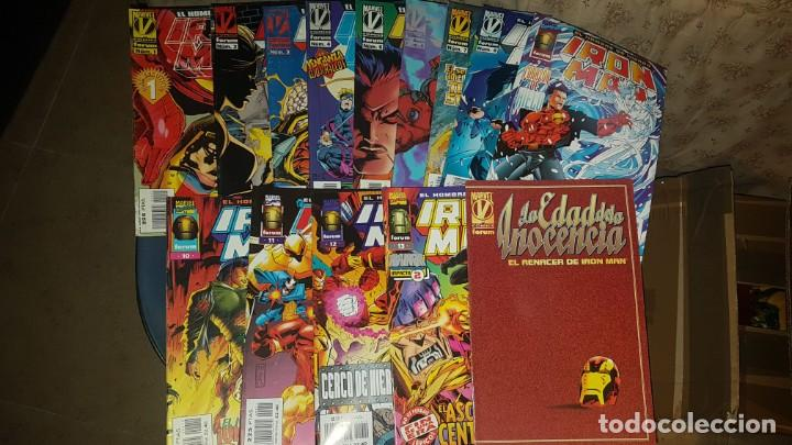 IRON MAN VOL.3 (OBRA COMPLETA 13 NÚMEROS+ESPECIAL) - FORUM (Tebeos y Comics - Forum - Iron Man)