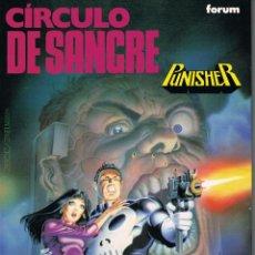 Cómics: PUNISHER CIRCULO DE SANGRE POR STEVE GRANT Y MIKE ZECK. Lote 228697253