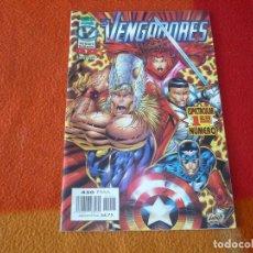 Cómics: LOS VENGADORES VOL. 2 Nº 1 HEROES REBORN ( LIEFELD VALENTINO ) ¡BUEN ESTADO! MARVEL FORUM II. Lote 228855750