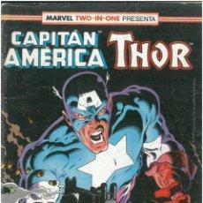 Comics : CAPITAN AMERICA - THOR. Nº 62. 1985. VOLUMEN 1. EDITORIAL FORUM. C-72. Lote 229124580