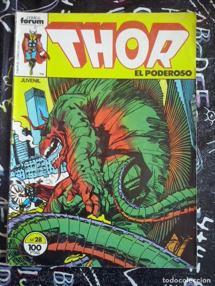 FORUM - THOR VOL. 1 NUM. 28 (Tebeos y Comics - Forum - Thor)