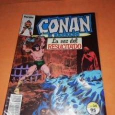 Cómics: CONAN EL BARBARO. Nº 34 LA VOZ DEL RESUCITADO. FORUM GRAPA. Lote 289772618