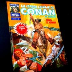 Cómics: EXCELENTE ESTADO LA ESPADA SALVAJE DE CONAN 5 SUPER CONAN SEGUNDA EDICION FORUM. Lote 229159202