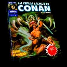 Cómics: EXCELENTE ESTADO LA ESPADA SALVAJE DE CONAN 4 SUPER CONAN SEGUNDA EDICION FORUM. Lote 229159455