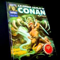 Cómics: CASI EXCELENTE ESTADO LA ESPADA SALVAJE DE CONAN 4 SUPER CONAN SEGUNDA EDICION FORUM. Lote 229162270