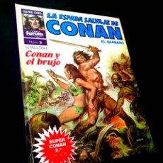 Cómics: CASI EXCELENTE ESTADO LA ESPADA SALVAJE DE CONAN 2 SUPER CONAN SEGUNDA EDICION FORUM. Lote 229162570