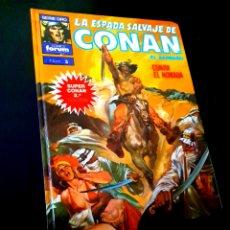 Cómics: MUY BUEN ESTADO LA ESPADA SALVAJE DE CONAN 5 SUPER CONAN SEGUNDA EDICION FORUM. Lote 229163380