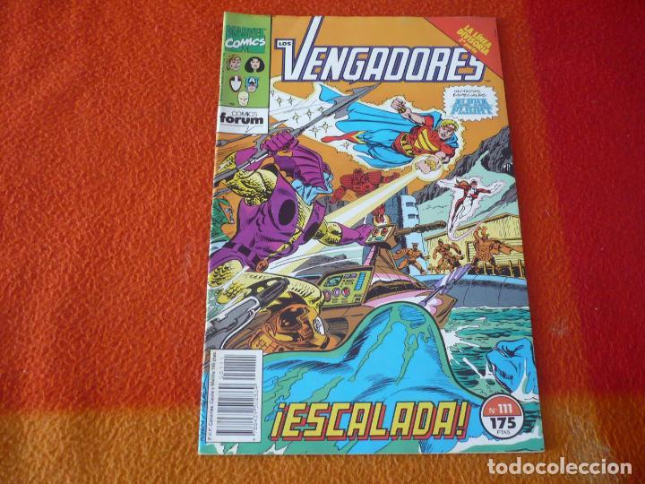 LOS VENGADORES VOL. 1 Nº 111 LA LINEA DIVISORIA ( NICIEZA RYAN ) ¡BUEN ESTADO! MARVEL FORUM (Tebeos y Comics - Forum - Vengadores)