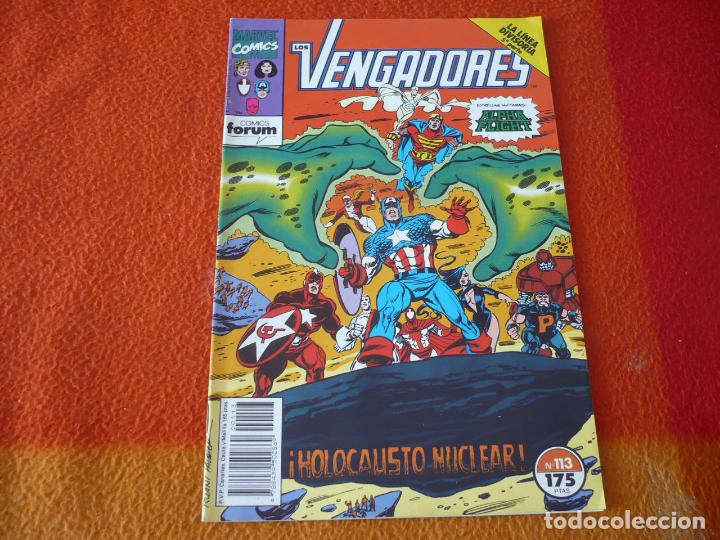 LOS VENGADORES VOL. 1 Nº 113 LA LINEA DIVISORIA ALPHA FLIGHT ( NICIEZA ) ¡BUEN ESTADO! MARVEL FORUM (Tebeos y Comics - Forum - Vengadores)