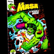 Cómics: CASI EXCELENTE ESTADO LA MASA 4 FORUM. Lote 229314875