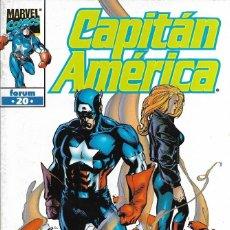 Cómics: CAPITÁN AMÉRICA. MARVEL COMICS FORUM 20. Lote 229326650