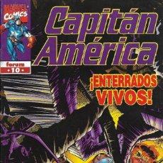 Cómics: CAPITÁN AMÉRICA. MARVEL COMICS FORUM 10. Lote 229328475