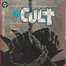 """Cómics: COMIC DC """" BATMAN THE CULT """" LIBRO 2 FRMTO. PRESTIGIO 64 PAGS. ED. ZINCO 1989. Lote 229443530"""