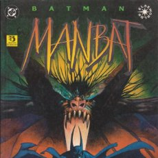 "Cómics: COMIC DC "" BATMAN MANBAT "" LIBRO 1 FRMTO. PRESTIGIO 64 PAGS. ED. ZINCO 1996. Lote 229444025"