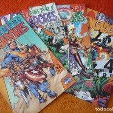 Cómics: SIEMPRE VENGADORES NºS 2, 3, 4, Y 5 ( BUSIEK PACHECO ) ¡MUY BUEN ESTADO! MARVEL FORUM. Lote 229485830