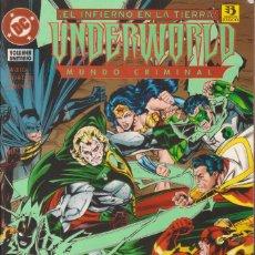 """Cómics: COMIC DC """" UNDERWORLD MUNDO CRIMINAL """" LIBRO UNITARIO FRMTO. PRESTIGIO 132 PGS. ED. ZINCO 1995. Lote 229602735"""