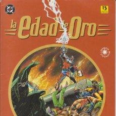 """Cómics: CÓMIC DC TOMO """" LA EDAD DE ORO """" LIBRO 4 FRMTO. PRESTIGIO ED. ZINCO 1995. Lote 229708705"""