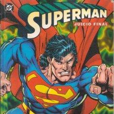 """Cómics: CÓMIC DC TOMO """" SUPERMAN JUICIO FINAL CAZADOR/PRESA """" LIBRO 2 FRMTO. PRESTIGIO 48 PGS ED. ZINCO 1995. Lote 229709270"""