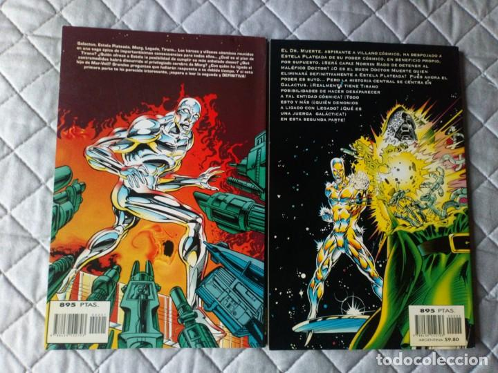 Cómics: Estela Plateada La Muerte de Galactus 2 Tomos COMPLETA FORUM - Foto 2 - 229712015