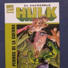 Cómics: EL INCREIBLE HULK: LOS PERROS DE LA GUERRA (FORUM) - 2001. Lote 229789525