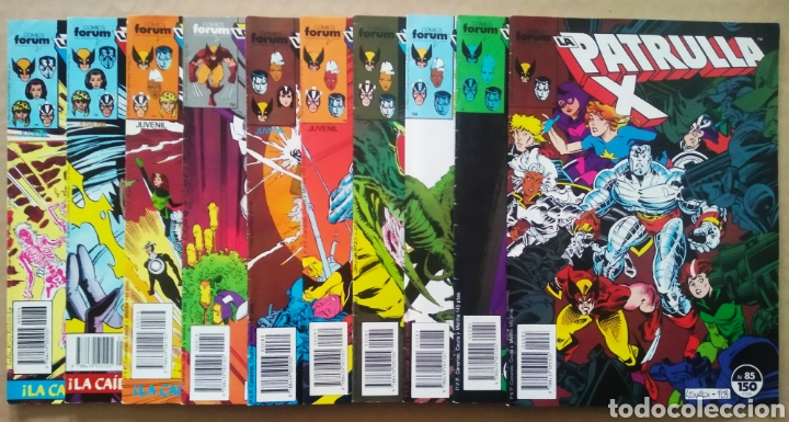 Cómics: Lote La Patrulla X: N°13-14-15-16-17-18-19-73-74-75-76-77-78-79-80-81-82-83-84-85-86-87-88-89-90-91 - Foto 2 - 229826815
