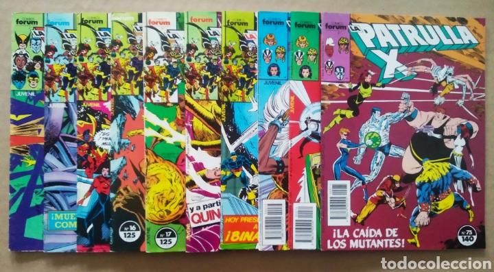 LOTE LA PATRULLA X: N°13-14-15-16-17-18-19-73-74-75-76-77-78-79-80-81-82-83-84-85-86-87-88-89-90-91 (Tebeos y Comics - Forum - Patrulla X)