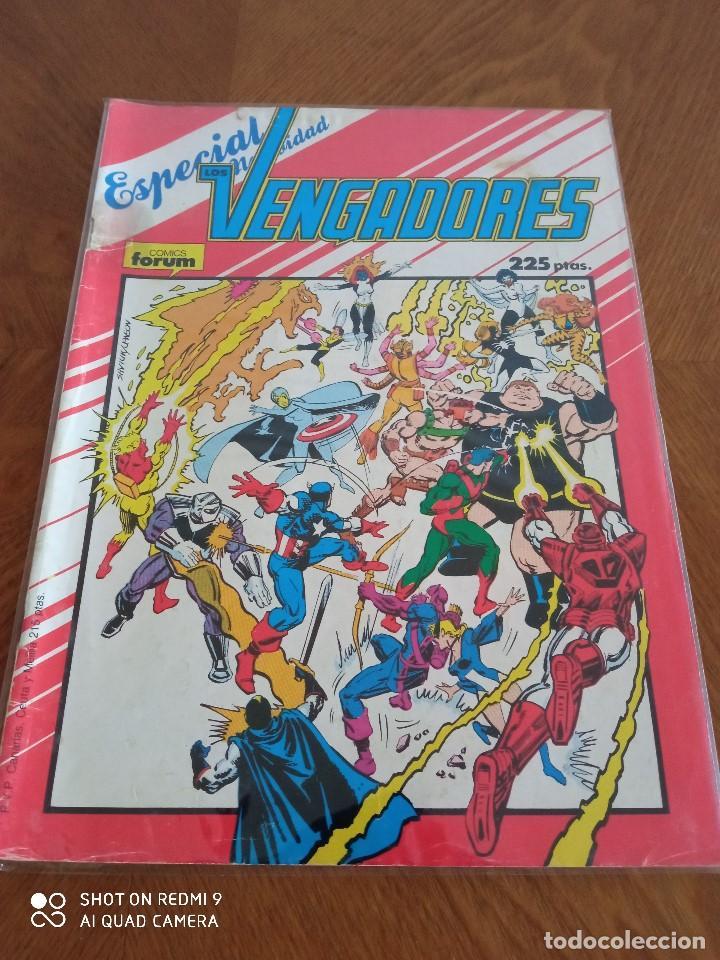 LOS VENGADORES. ESPECIAL NAVIDAD 1987. FORUM (Tebeos y Comics - Forum - Vengadores)